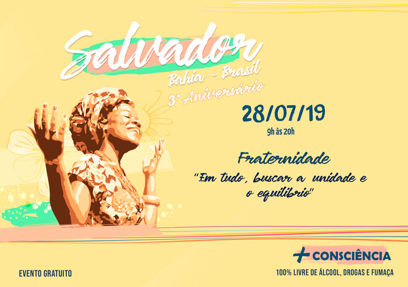 Festival da Juventude pela Paz em Salvador