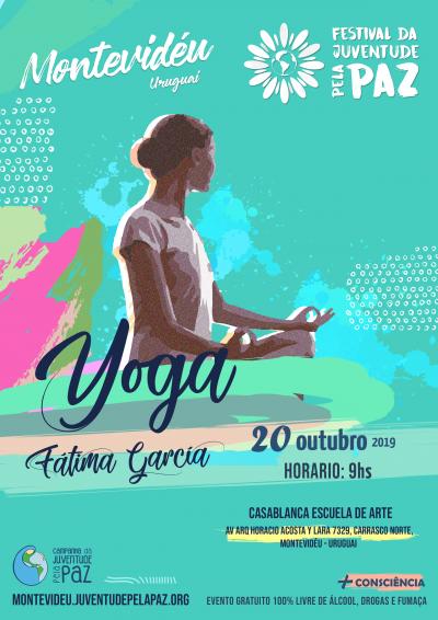 Yoga Fatima Gracia Festival Paz Montevideu