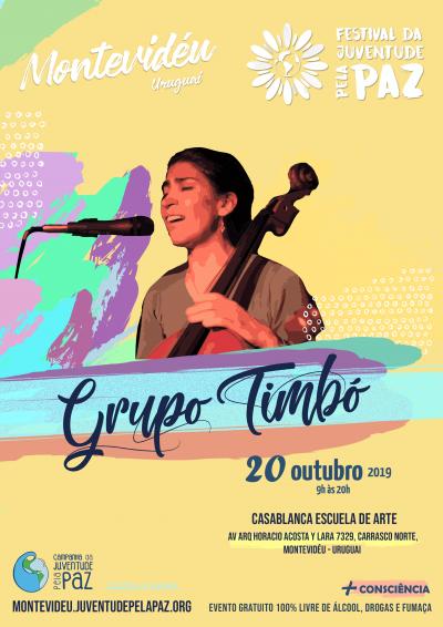 Grupo Timbo Festival Paz Montevideu
