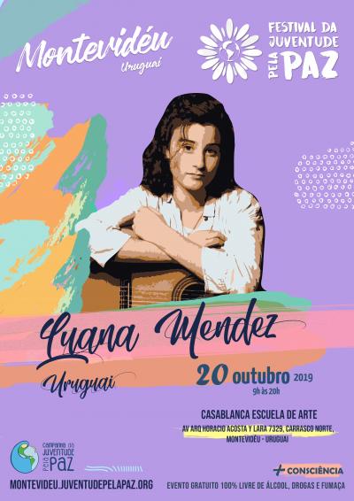 Luana Mendez Festival Paz Montevideu