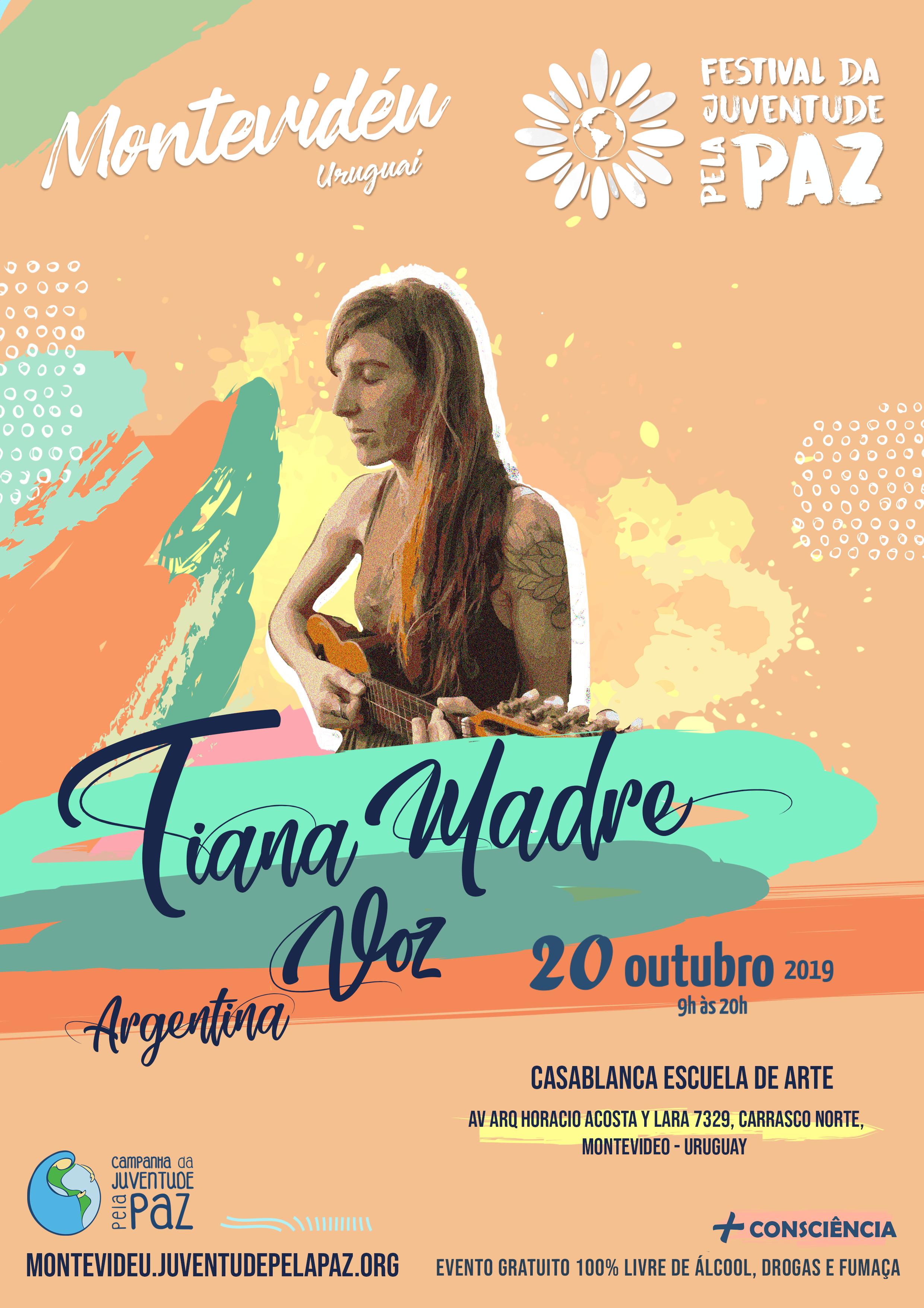 Tiana Madre Festival Montevideu