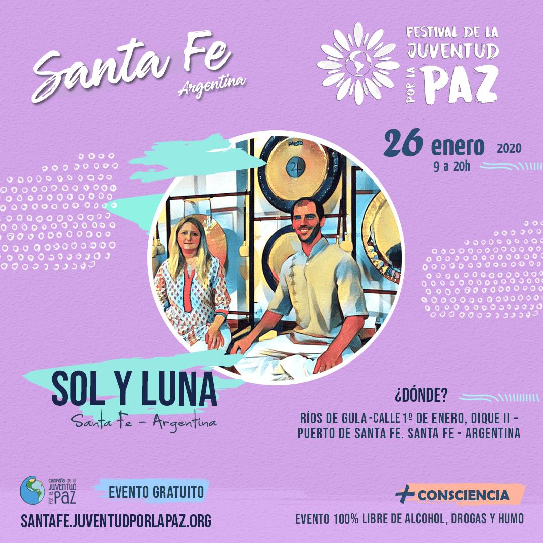 Festival da Juventude pela Paz Sol y Luna Santa Fe